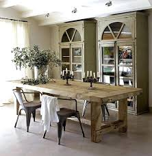 Rustic Dining Room Furniture Sets Distressed Wood Dining Table U2013 Rhawker Design
