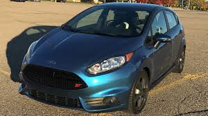 how the only liquid blue fiesta st made it out of ford to a