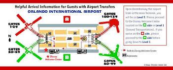 mco terminal map orlando international airport travel information