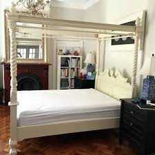 beds white king size four poster bed white king size poster bed