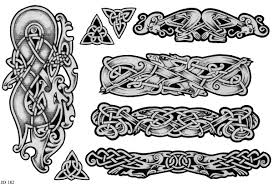 collection of 25 celtic knot design