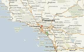 pasadena ca map pasadena california location guide