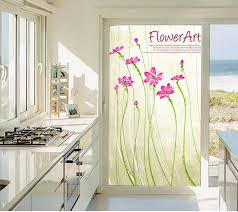sliding glass door window clings patio doors privacy stickers on the window stained glass windows