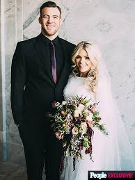 witney carson wedding the with the pro marries carson