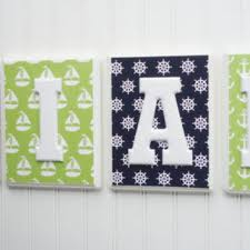 Baby Name Decor For Nursery Best Block Letter Baby Name Products On Wanelo
