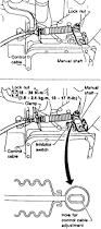 nissan sentra q 1996 repair guides automatic transaxle adjustments autozone com