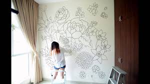 how to draw easy things floral sharpie wall mural youtube make cute drawings related image grow pinterest photos i am and bedroom how to draw an open