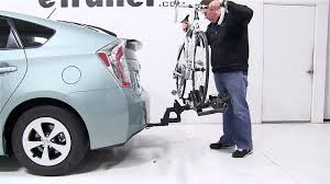 toyota prius bike rack review of the thule t2 platform style hitch bike rack on a 2013