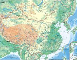 World Mountain Ranges Map by Map China Peoples Republic Of China Topographical Overview