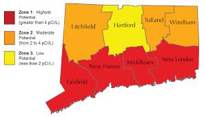 Radon Zone Map National Radon Action Month Fair January 2016 Fairfield