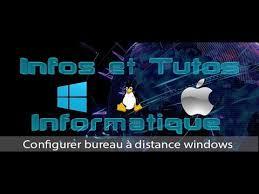 configurer bureau à distance windows 7 configurer bureau à distance windows