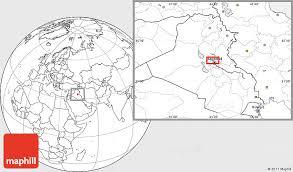 baghdad world map blank location map of baghdad