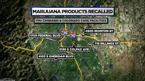 Colorado Marijuana Dispensary Map by More Marijuana Products Recalled Due To Banned Pesticides Cbs Denver