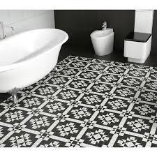 black and white floor tiles wood floors