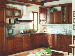 kitchen white varnished wooden wall mounted cabinet design solid