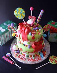 candyland christmas cake design christmas cakes decoration ideas
