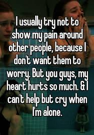 Chest Pain Meme - i usually try not to show my pain around other people because i