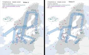 Baltic Sea Map Focus On The Nordic And Baltic Sea