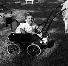 John F Kennedy Jr Kn 21847 John F Kennedy Jr On The South Lawn Of The White