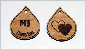 custom charms made custom charms made of wood or acrylic by