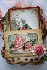 scrapbooking albums shabby beautiful scrapbooking shabby pink roses mini scrapbook album