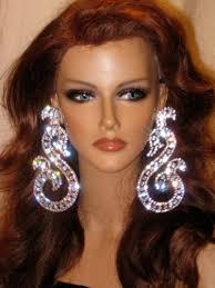 gaudy earrings 59 earring large earrings gold dangle earrings