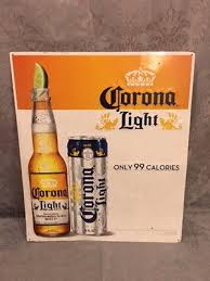 calories in corona light beer corona beer sign mexico lighted mirror beach scene sound no motion