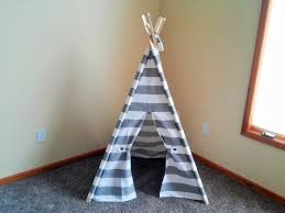nice simple design of the kids teepee room decor can be decor with