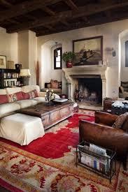Vintage Home Design Plans Inspiring Living Room Design With Old Carpet And Brown Sofa Also