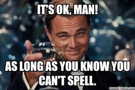 Spelling Meme - image jpg