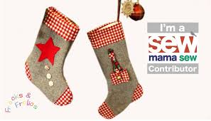 sew a christmas stocking free seasonal templatepack youtube