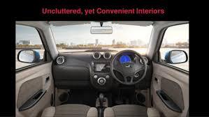 Mahindra Reva E20 Interior Mahindra E2o Plus Launch Presentation