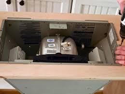 range hood exhaust fan inserts how to construct a custom kitchen range hood hgtv