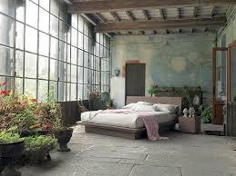 Modern Rustic Bedrooms - diy rustic bedroom ideas gray painted wood nightstand table modern