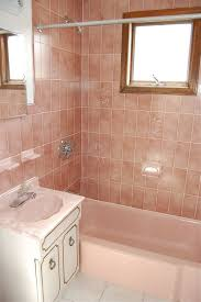 Pink Tile Bathroom 9 Best For The Home Saving My Pink Bathroom Images On Pinterest
