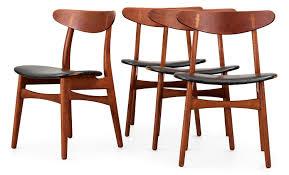 Black Leather Chairs Hans J Wegner Chair Ch30 Design Pinterest Black Leather