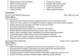 Sample Resume Police Officer by Police Officer Resume Graphic Design Resume Ideas Pinterest