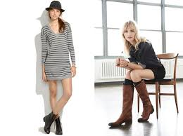 dresses with boots pairing dresses with boots fall inspiration my fashion centsmy