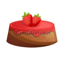 glacer en cuisine gâteau aux fraises sucre à glacer frais desserts cuits