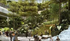 Interior Waterfall Forest Valley World U0027s Largest Indoor Waterfall Coming To