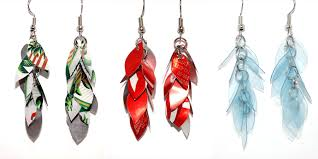plastic bottle earrings mallory from the nica jewelry project guest post so you