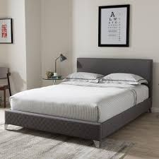 baxton studio harlow modern and contemporary grey quilted fabric