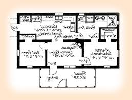 Single Story House Plans Without Garage by 3 Bedroom House Floor Plan Pdf