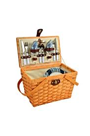 picnic basket set picnic at ascot classic picnic basket set from palm by