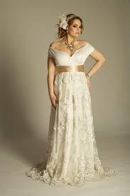 empire waist plus size wedding dress this is an the shoulder plus size wedding dresses with