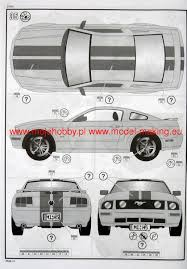 mustang gt model 2005 mustang gt model set revell 67355