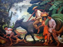 70 years after it left philippine ss the famous first prize winning painting after the day s toil is finally located the masterpiece was bought in