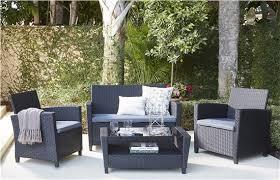 cosco outdoor products cosco outdoor living 4 piece malmo resin