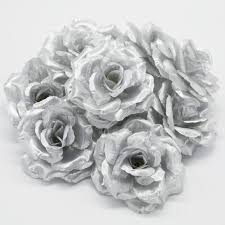 silver roses artificial silver roses promotion shop for promotional artificial