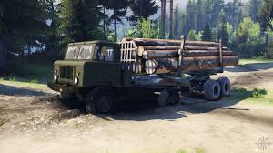 gaz 66 66 truck for spin tires